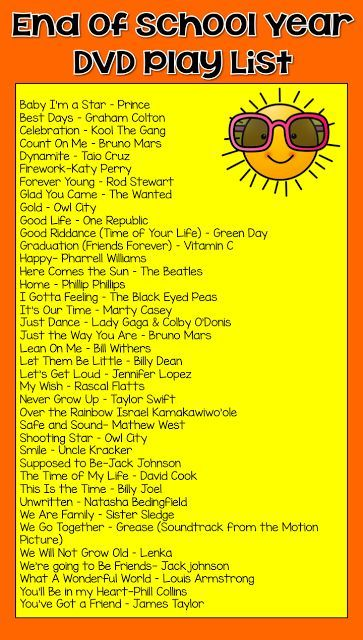 Popular songs for 5th graders