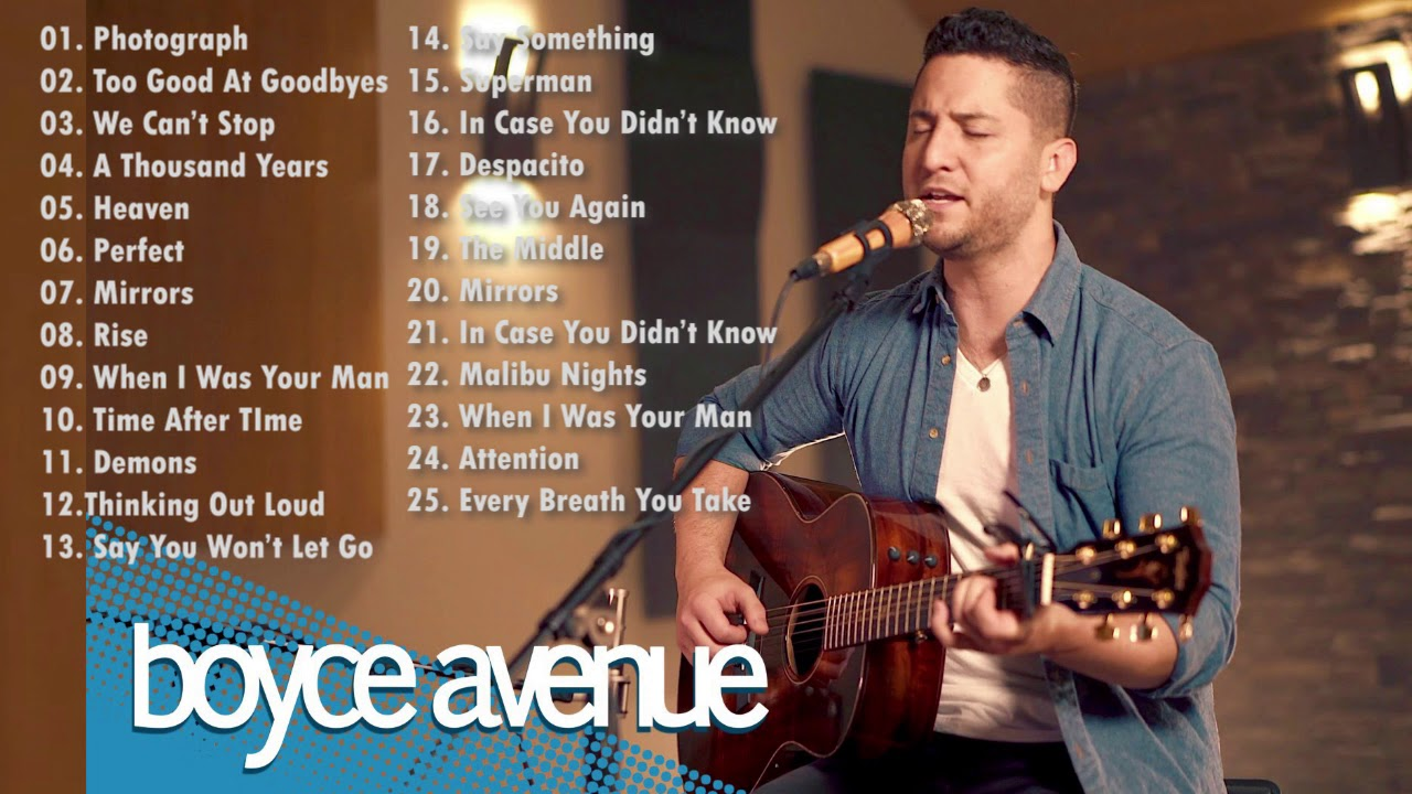 Great acoustic covers of popular songs