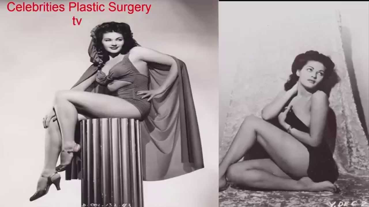 Young yvonne de carlo naked
