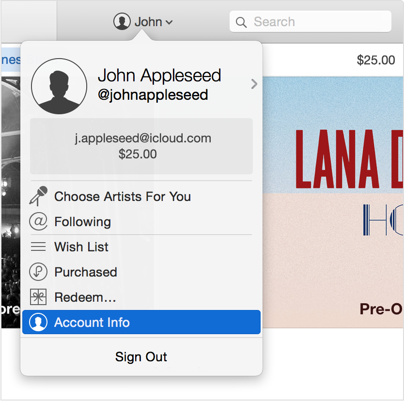 How to sign up for itunes music