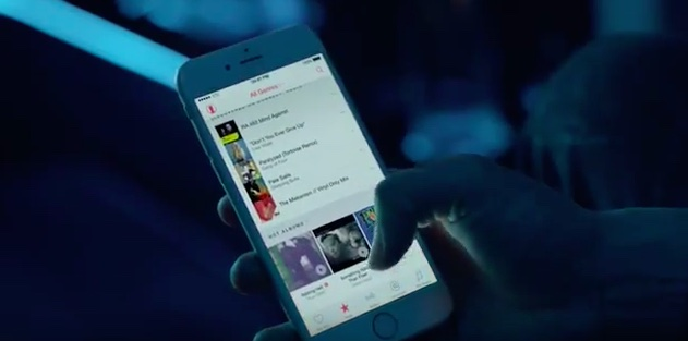 New iphone commercial music