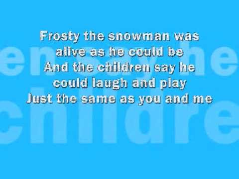 Frosty the snowman funny song