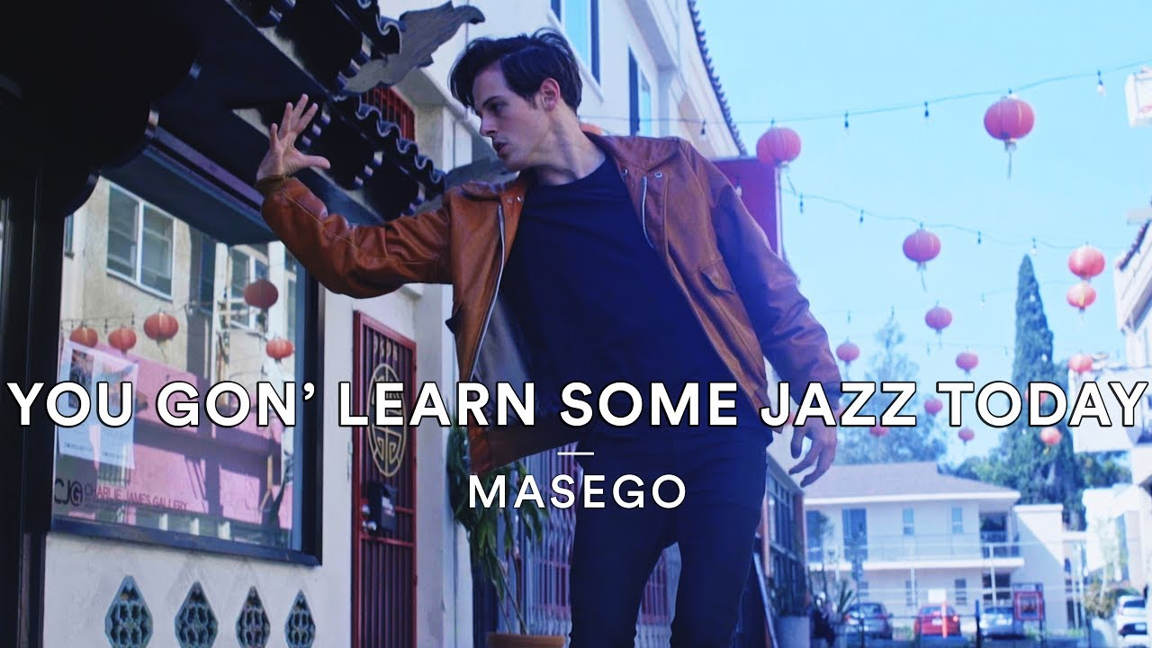 I just learned some jazz today