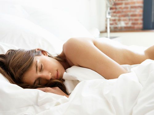 Pictures of girl sleeping naked